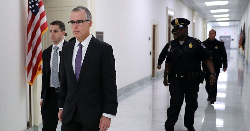 Image for McCabe Panics Over Rosenstein Ouster: I'm 'Deeply Concerned' Mueller Probe 'At Risk'