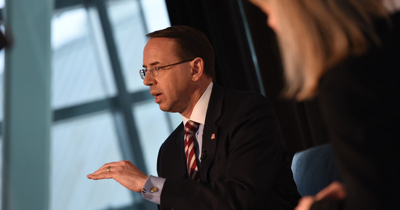 Image for Deputy AG Rosenstein to Step Down in March – Official
