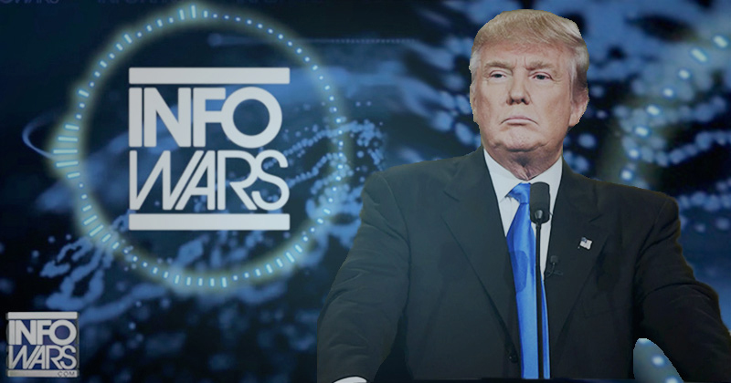 Image for Watch Live: Alex Jones Has An Emergency Message For President Donald Trump