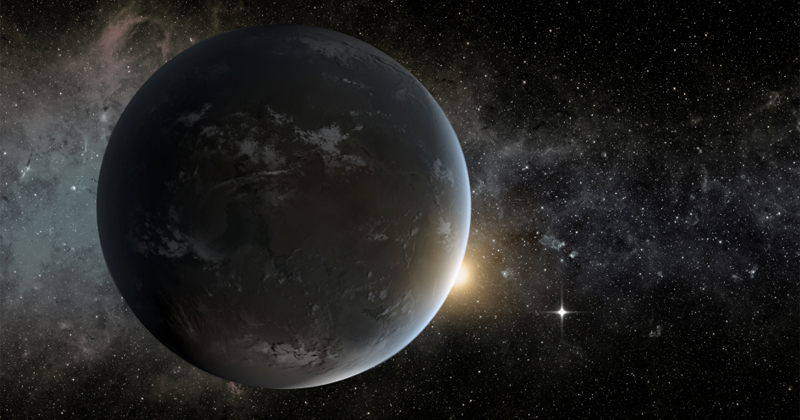Image for Two Earth-Like Planets Discovered Near One of Our Closest Stars