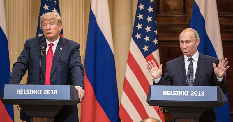 Image for Meltdown: Left Seething Over Trump-Putin Summit