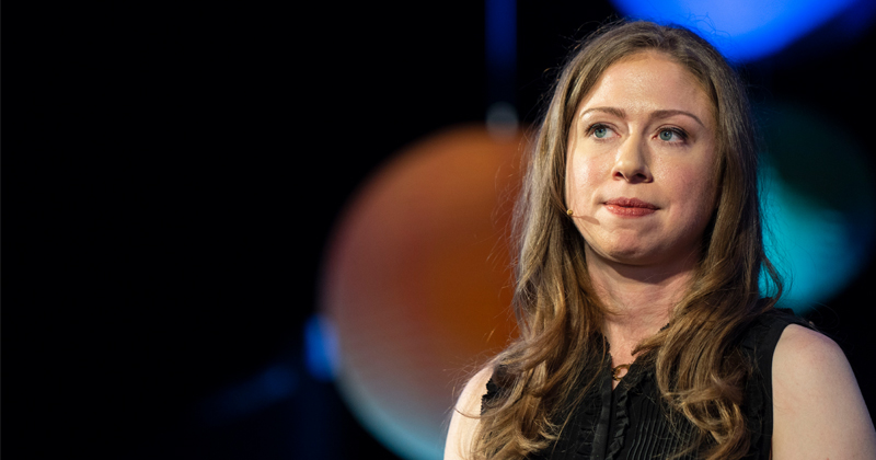 Image for Chelsea Clinton Links Economic Prosperity to Abortion