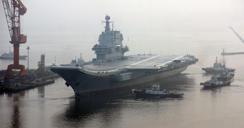 Image for China's New Aircraft Carrier to Transform Naval Presence