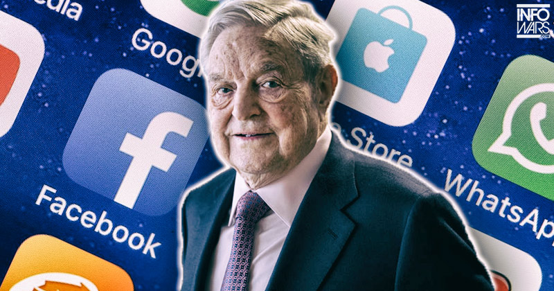 Image for Coincidence? Soros Invests in Tech Giants Months Before Infowars Banned