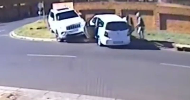 Watch: South African Mother Rams Armed Carjackers