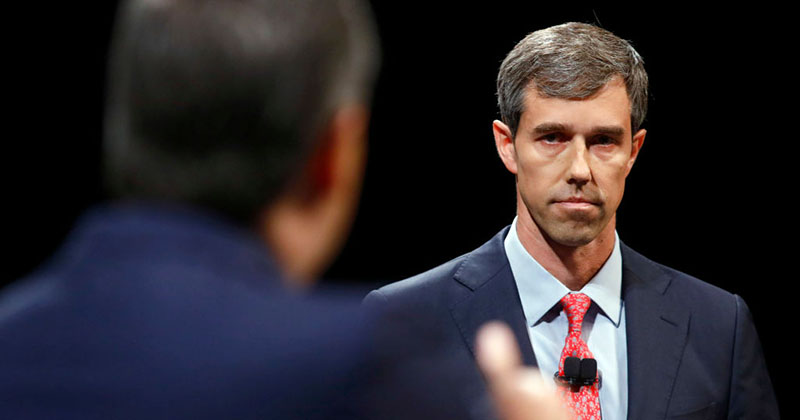 Image for Beto O'Rourke Calls For Trump Impeachment Proceedings to Begin