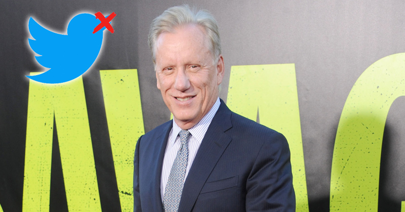 Image for 'Free speech is free speech': James Woods Refuses Twitter Demand to Delete Meme