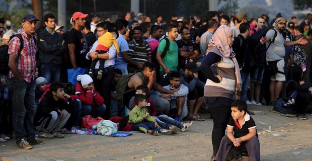 Image for Pew: Europe Hosting at Least 3.9 Million Illegal Immigrants