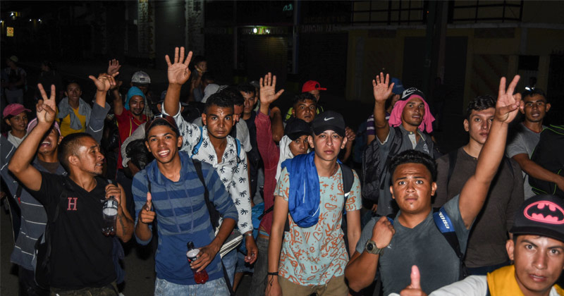 Image for Warning: Second Migrant Caravan Heads to US