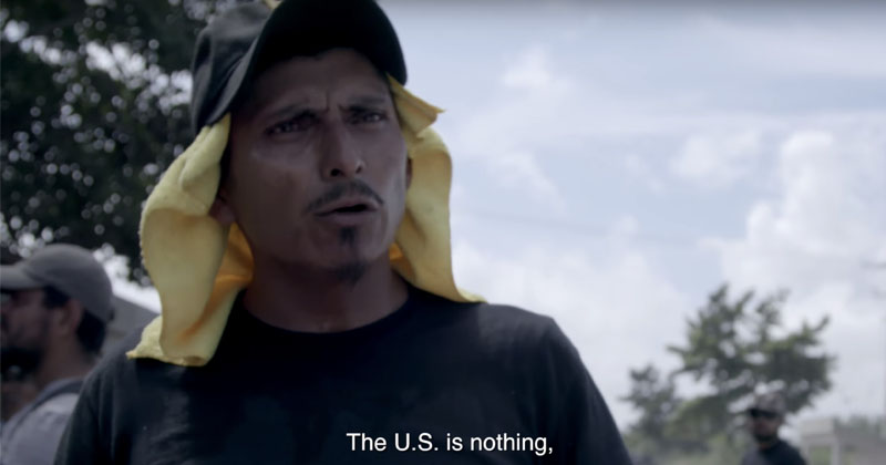 Image for 'The U.S. Is Nothing': Caravan Organizers Brag About Violating America's Sovereignty