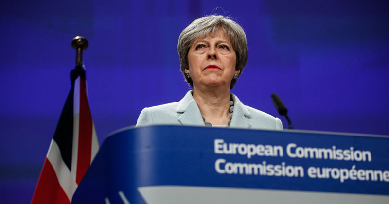 Image for Brexit Failure Puts Theresa May's Leadership On Edge