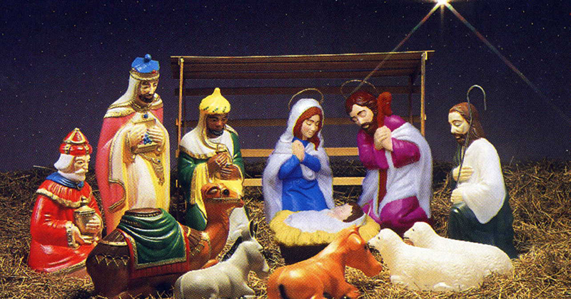 Image for Officials move town nativity scene after receiving complaints for the first time in 40 years
