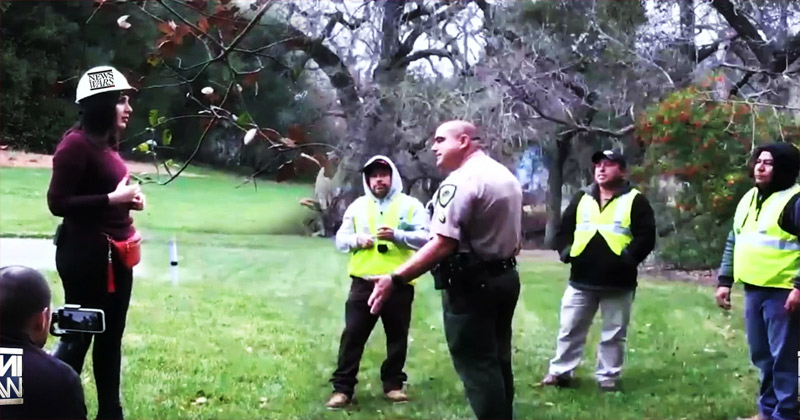 Image for VIDEO: Police Respond To Illegal Aliens Camping At Nancy Pelosi's House