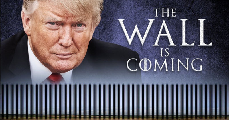 Image for Watch Live: Trump To Declare National Emergency, Build The Wall