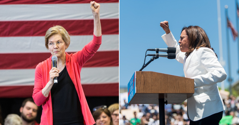 Image for Harris, Warren Embrace Idea of Reparations For Black Americans – Report