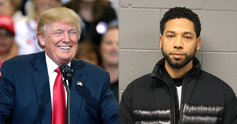 Image for Trump Blasts 'Racist' 'Dangerous' Faker Smollett