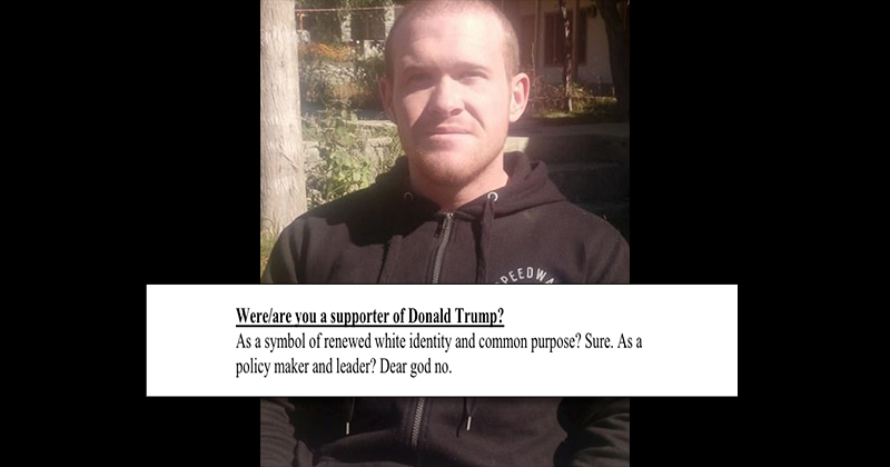 Media Claims Christchurch Shooter Supported Trump, But