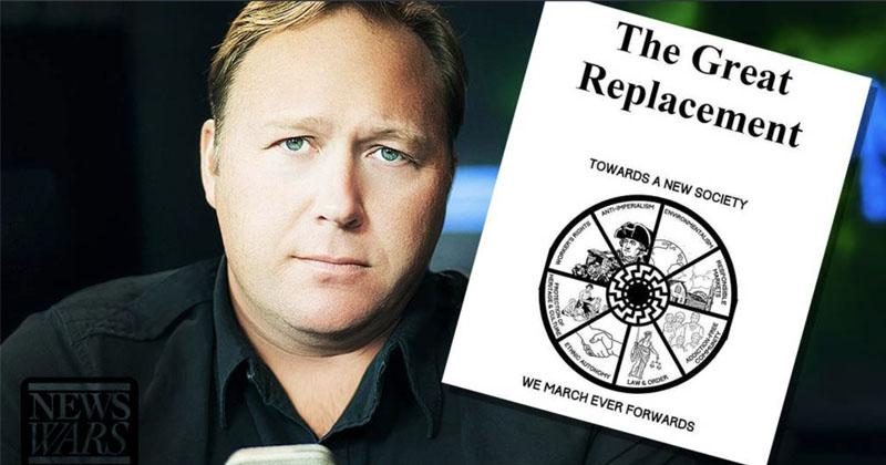 Image for Alex Jones Breaks Down NZ Killer's Manifesto