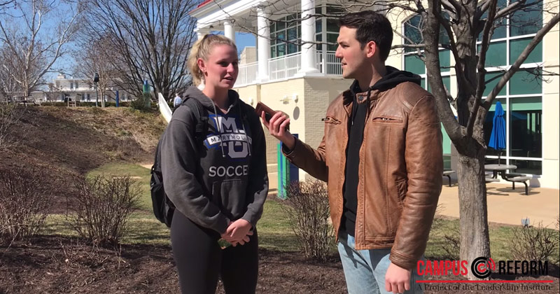 Image for VIDEO: Students Say Offensive Speech Is Not Free Speech