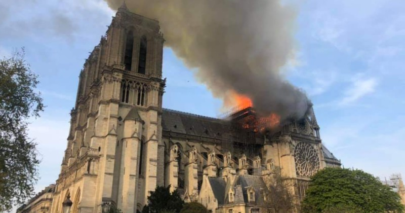 Image for Notre Dame Fire May Be Occult Ritual Says Investigative Journalist