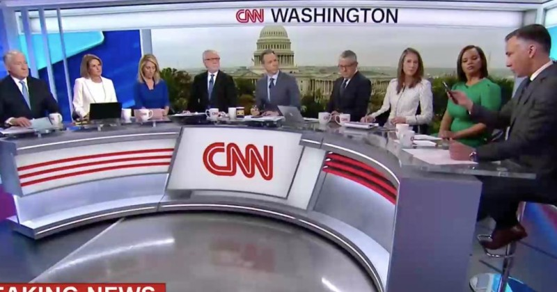 Image for CNN Discusses Mueller Report With 8 People Who All Completely Agree With Each Other