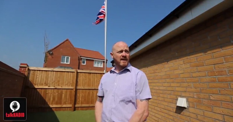 Image for UK: Gulf War Vet Flies Union Jack on His Property, Neighbors Complain, Demand it be Removed
