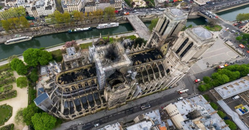 Image for Cause of Notre Dame Fire Remains a Mystery