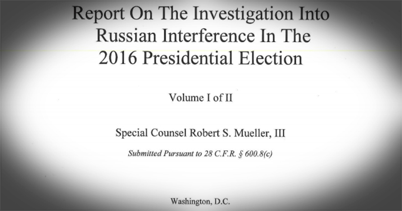 Image for Breaking! Read The Full Mueller Report Now
