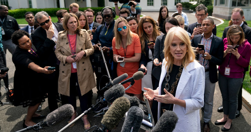 Image for Watch: Kellyanne Conway Shreds Fake News After Mueller Report Exonerates Trump