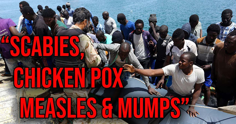 Record Numbers Of Africans Now Crossing Border