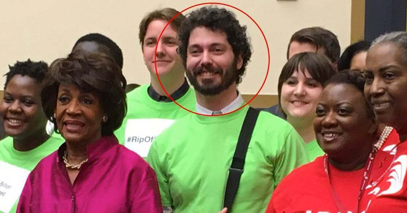 Image for Flashback: Maxine Waters Pictured With Antifa Leader Arrested for Beating 2 Marines