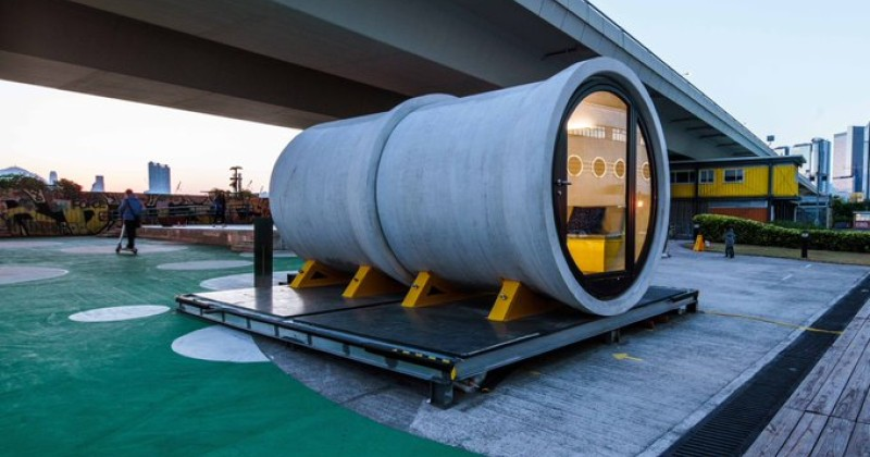 Image for Houses Are So Unaffordable, Young People Are Now Living in Sewer Pipes