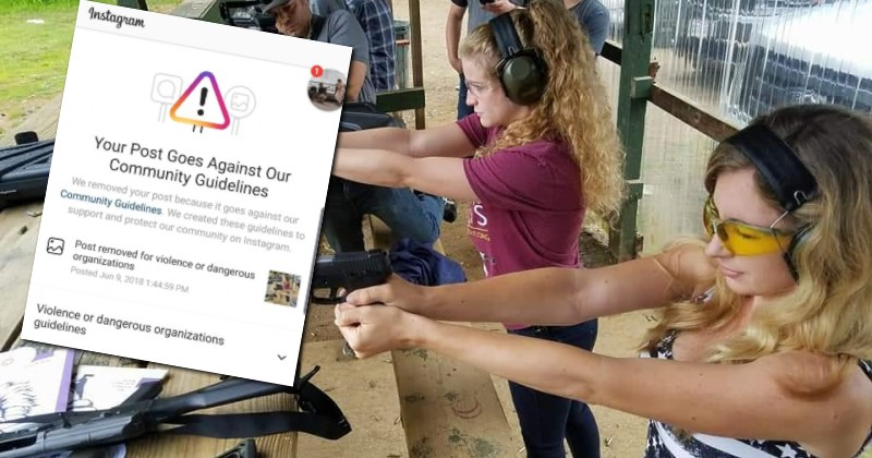 Image for Instagram is Now Banning Photos of People at Gun Ranges, Claiming They Promote 'Violence'