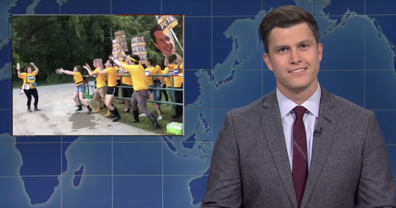 SNL Mocks Cringeworthy Buttigieg Viral Dance Video