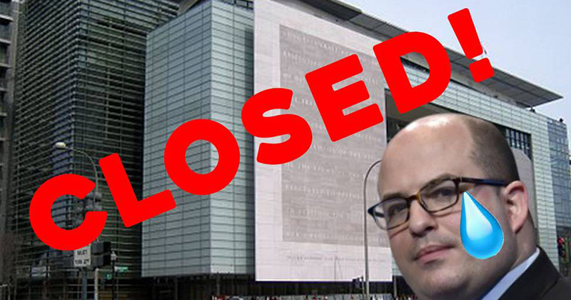 Image for Newseum Closes: Monument To Fake News Shuts Down Amid MSM Collapse