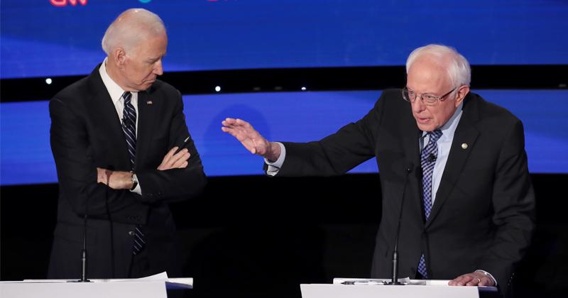 Image for Race Between Biden & Sanders Heats Up While Warren & Pete Have Peaked – Insider