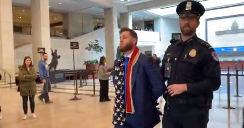 Image for Exclusive: Owen Shroyer Arrested in US Capitol