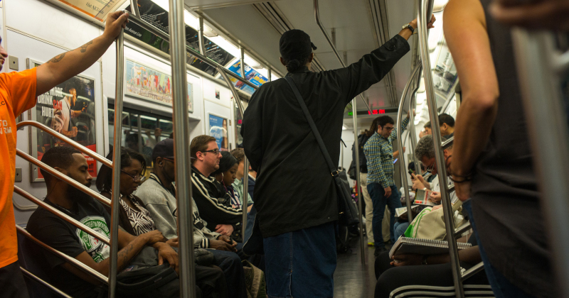 Image for NYC Subway Riders Find Corpse of Homeless Man Covered in Bed Bugs