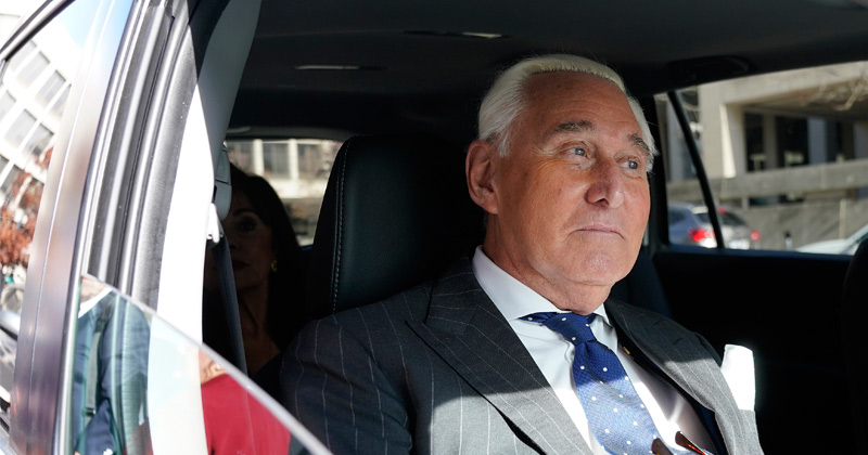 Report: President Trump Commutes Roger Stone's Sentence