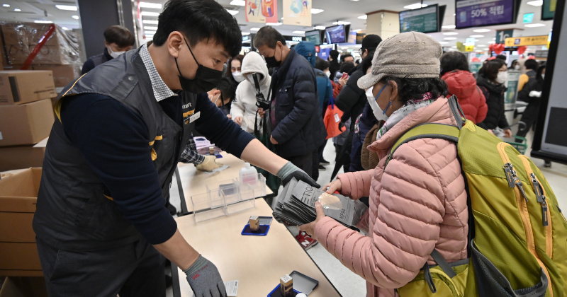 Image for South Korea Hits 1,000 Coronavirus Cases