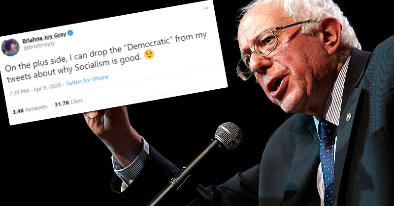 Image for Bernie's Press Secretary: 'Now I Can Drop 'Democratic' From 'Democratic Socialism'