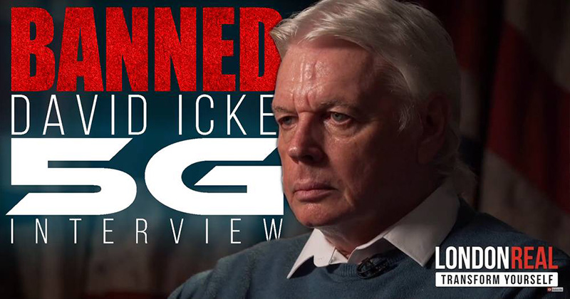 Image for Watch Banned David Icke 5G Interview In Full