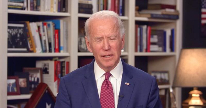 Image for Biden: 'Coronavirus Is Helping My Numbers'