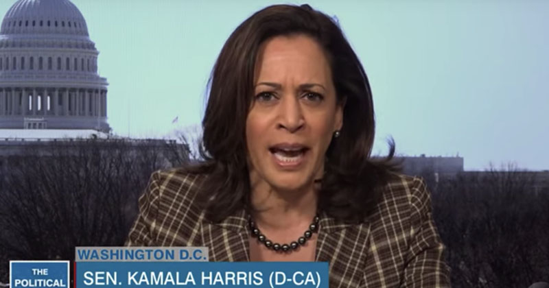 Image for 'We Don't Want a Drug Pusher for President': Kamala Harris Blasts Trump For Bringing Attention To Hydroxycholoroquine