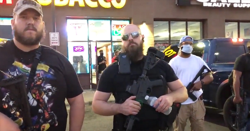 Image for Armed Citizens Stand With MN Protesters, But Defend Stores From Looters