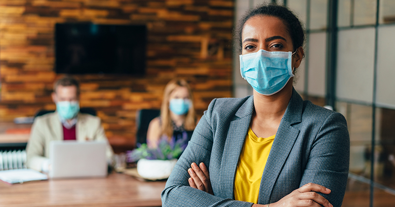 Image for Rules Dictate Employees Can Be Fired For Not Wearing A Face Mask