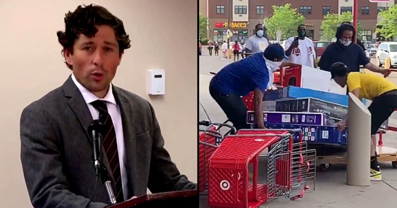 Image for Minneapolis Mayor Jacob Frey: 'Anger' Shown is Result of '400 Years' of Slavery And Racism