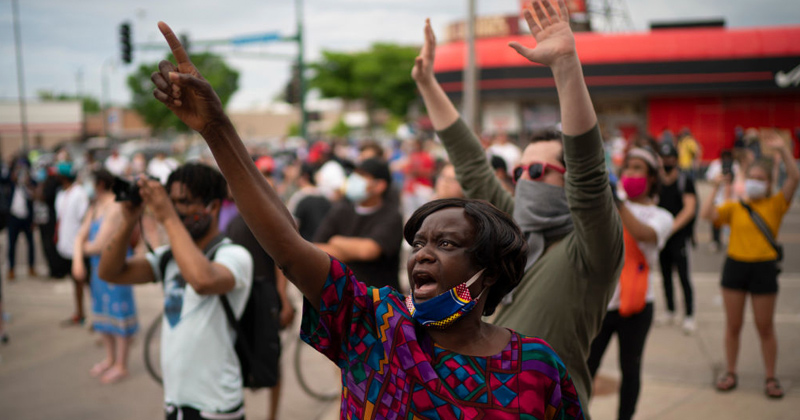 Image for Thursday Live: Citizens Declare Lockdown Over, As Thousands Riot in Minneapolis Streets