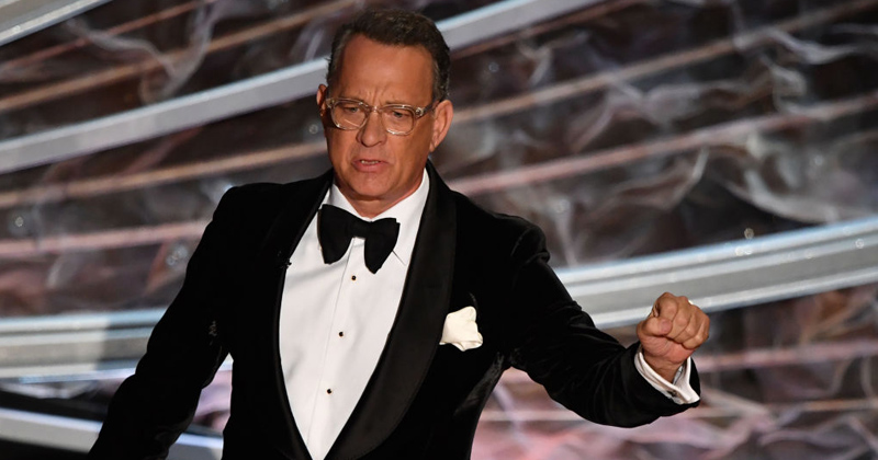 """Image for Tom Hanks Calls Americans Who Won't Wear Face Masks """"Pussies"""""""