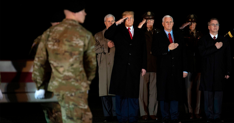 """Image for Trump Expects Only 4,000 Troops in Afghanistan """"Very Soon"""""""